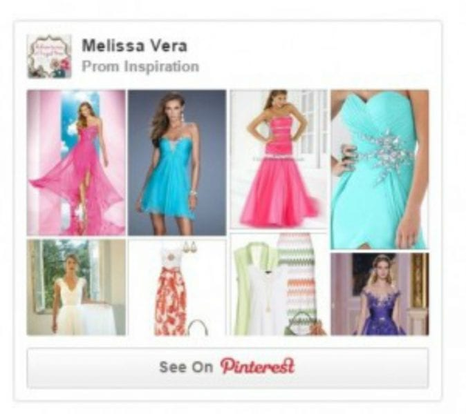 How to Create A Prom Inspiration Pinterest Board