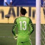 This the goalie after his hair cut.