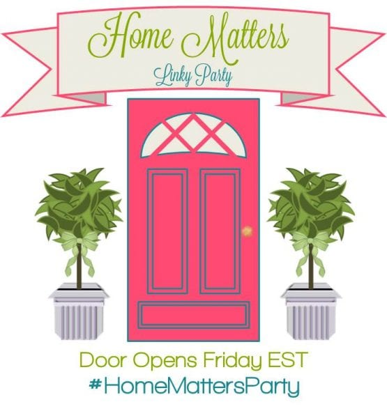 Home Matters Linky Party #51