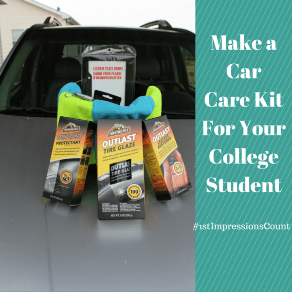 Make A Car Care Kit For Your College Student