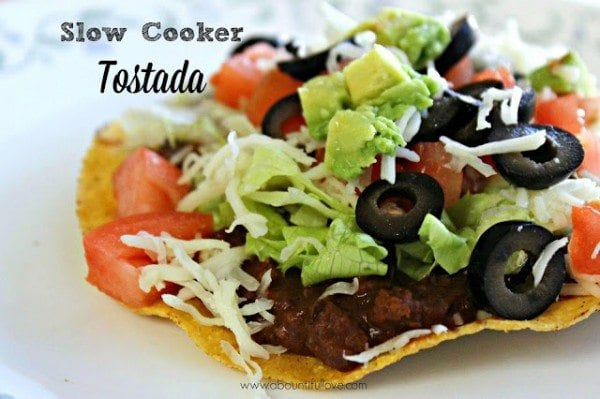Slow Cooker Tostada - HMLP 50 Feature