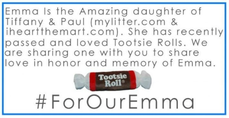 Tootsie Rolls For Emma
