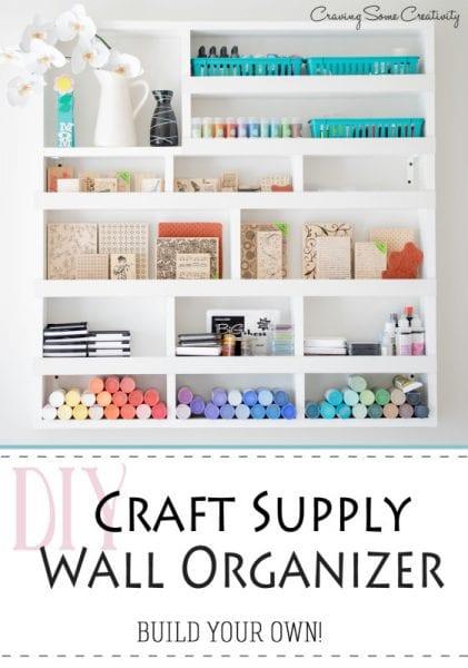 Craft Supply Organizer - HMLP 54 Feature