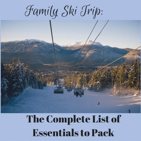 Family Ski Trip-
