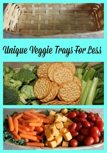 Unique Veggie Trays for Less
