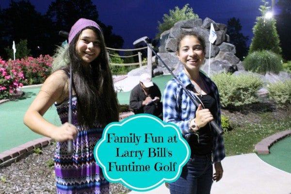family fun at lary bills golf