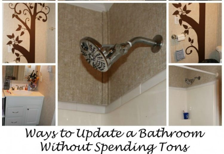 Ways to Update A Bathroom Without Spending Tons