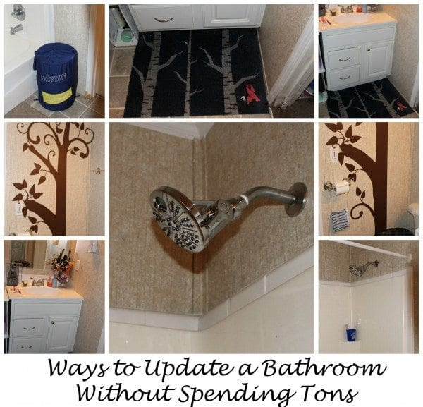 bathroom update with Delta Faucet