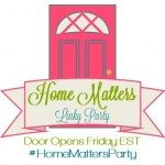 Home Matters Linky Party #64