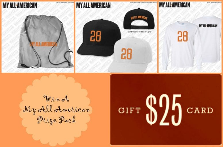 My All American Giveaway