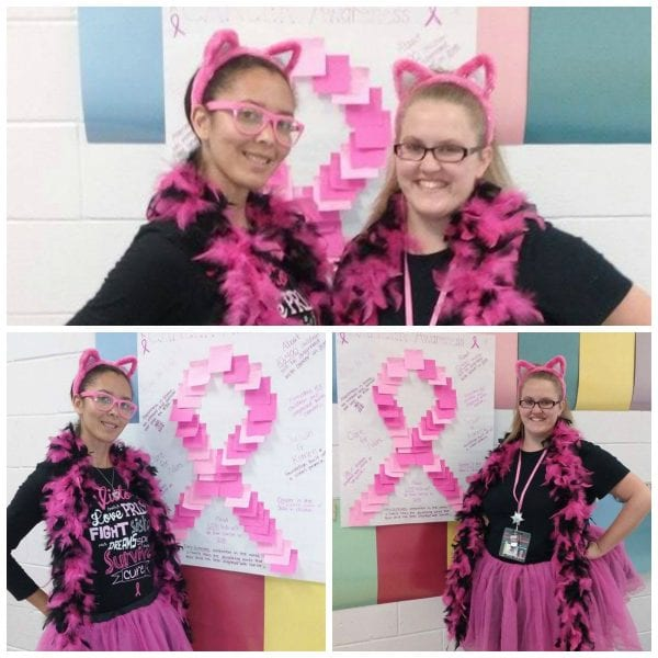 Breast Cancer Awareness Spreads to the Classroom