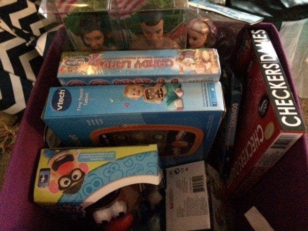 Toys for Tots toys