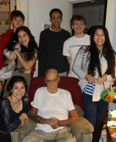 This picture was taken last Thanksgiving. The last one spent with my dad.