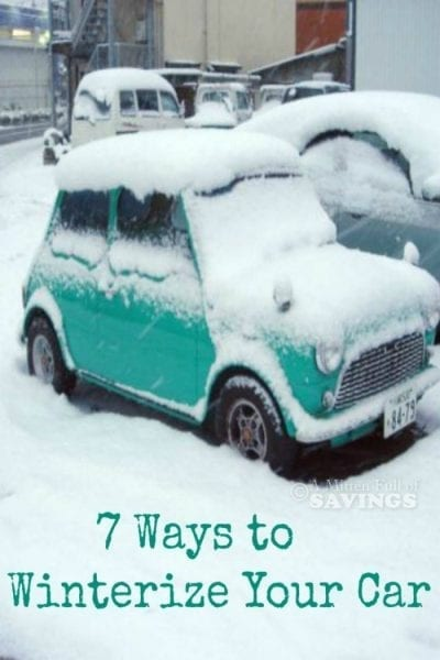 7 Ways To Winterize Your Car - A Mitten Full of Savings - HMLP 70 Feature