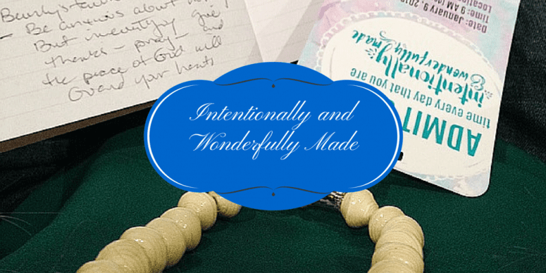 Intentionally and Wonderfully Made