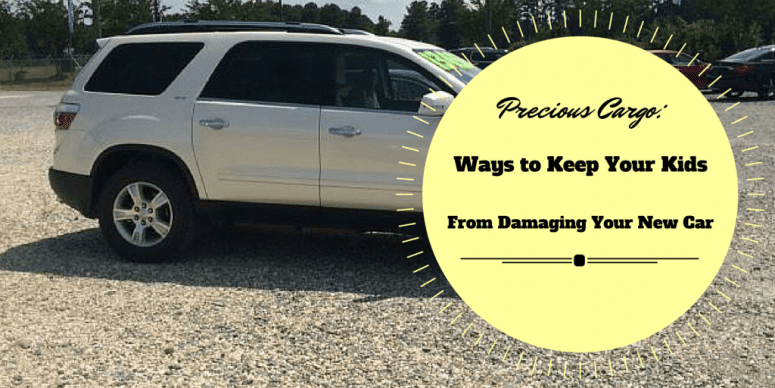 Precious Cargo: Ways to Keep Your Kids From Damaging Your New Car
