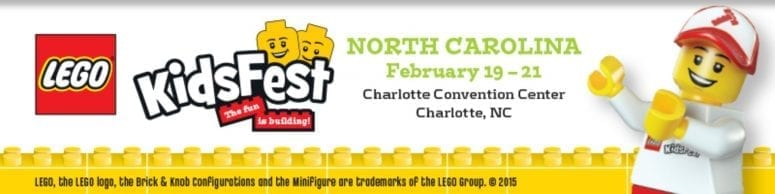 LEGO Kids Fest is Coming to NC