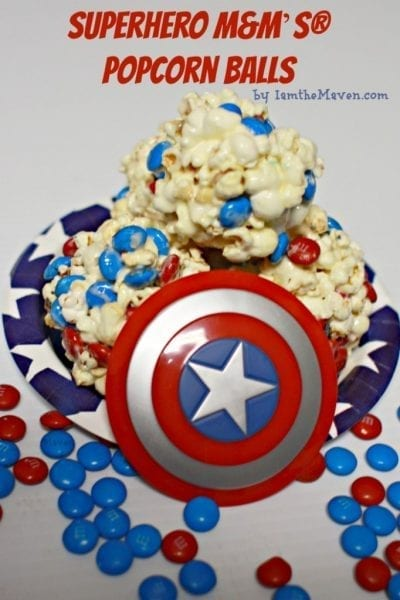 Cake Batter Popcorn Balls