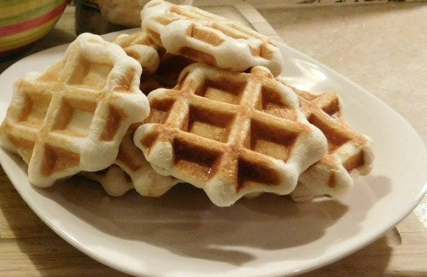 waffle iron biscuits