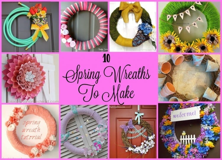 10 Spring Wreaths To Make