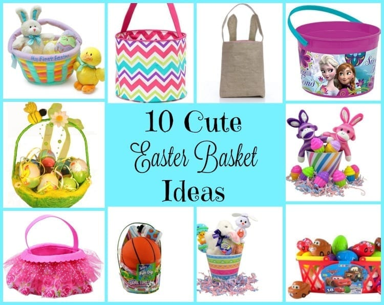 10 Cute Easter Basket Ideas Adventures Of Frugal Mom