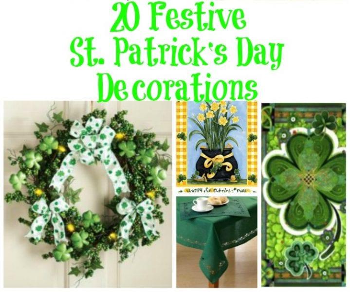 20 Festive St. Patrick's Day Decorations