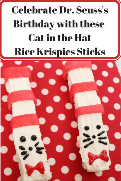 cat in the hat rice krispies sticks