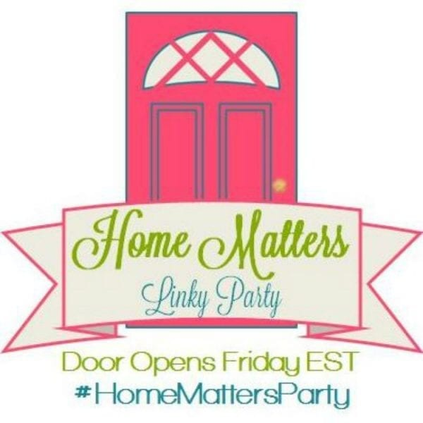 Home Matters Linky Party #98