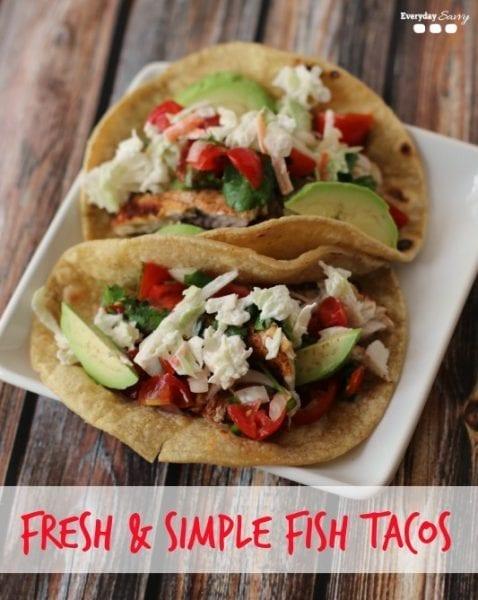 Fresh & Easy Fish Tacos