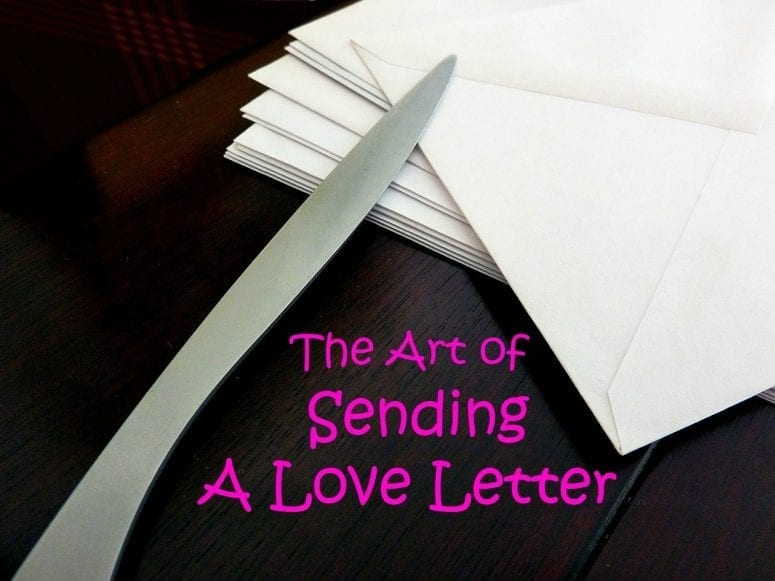 The Art of  Sending a Love Letter