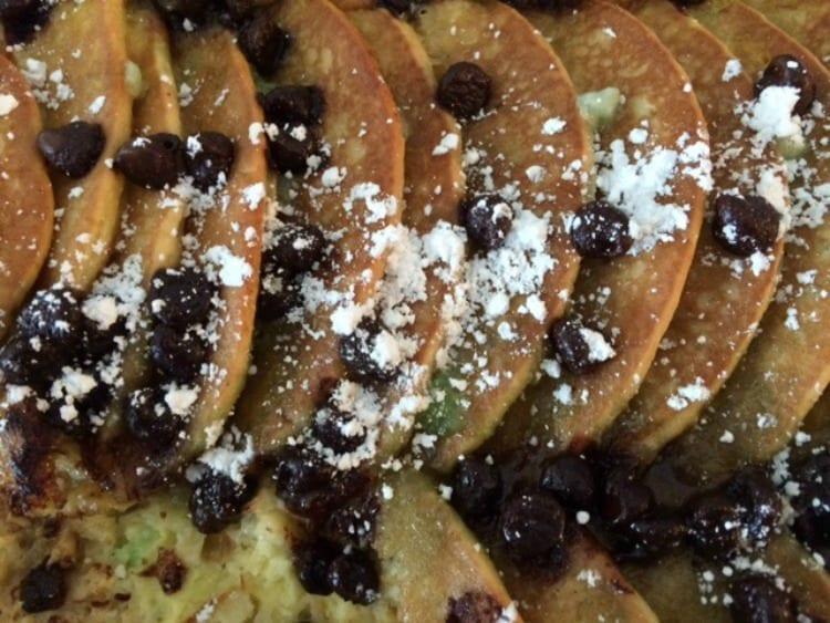 St. Patrick's Day Pancake Casserole
