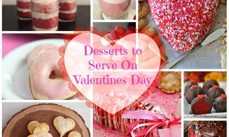 Desserts To Serve On Valentines Day
