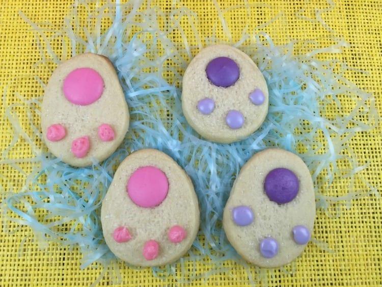 Bunny Paws Sugar Cookies