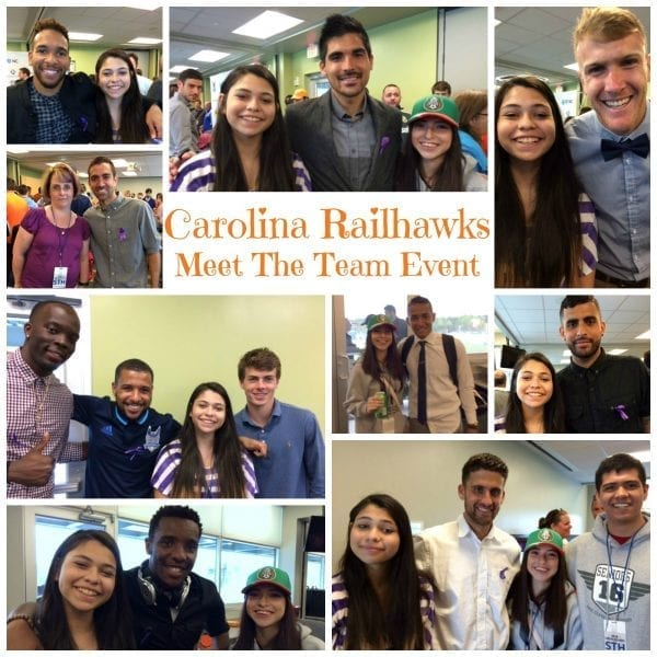 Carolina Railhawks Meet The Team Event