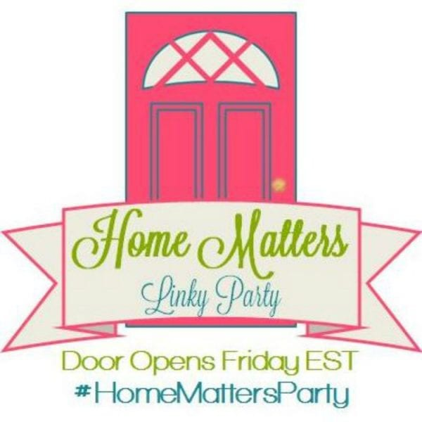 Home Matters Linky Party #91
