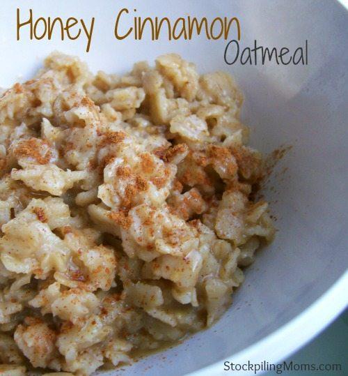 Honey-Cinnamon-Oatmeal