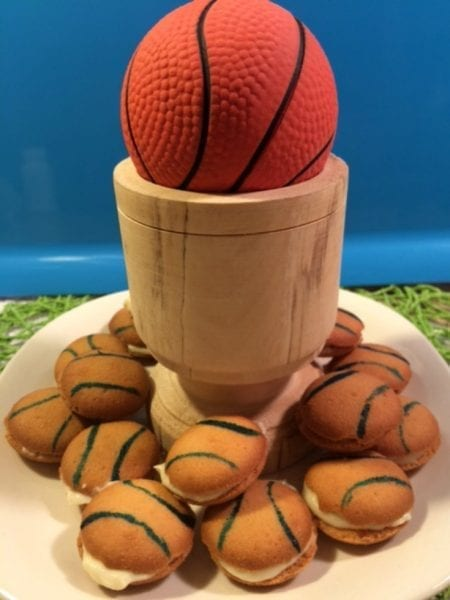 March Madness Basketball Cookies | Adventures of Frugal Mom