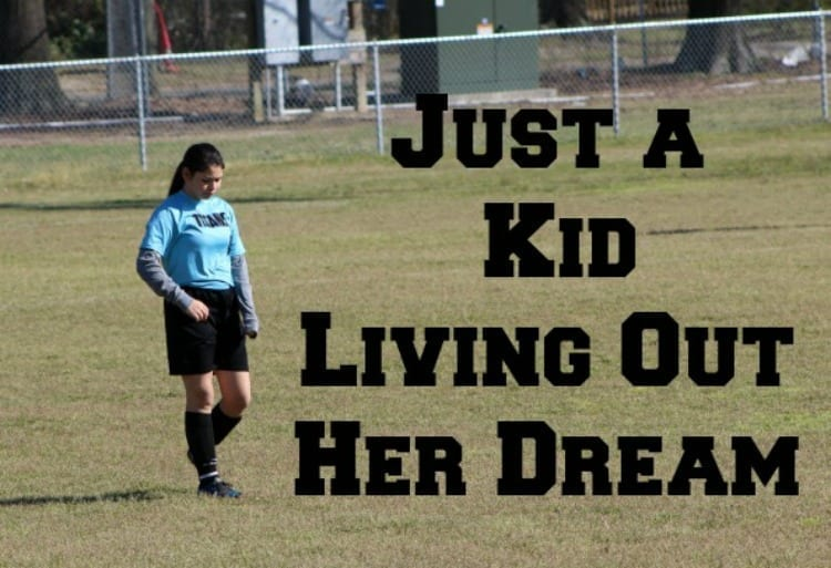 """""""Just A Kid"""" Living Out Her Dream #JustAKidFrom"""