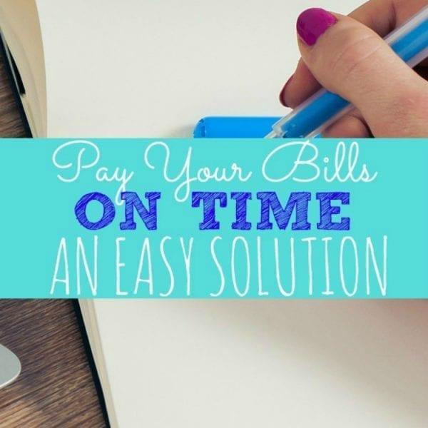 The Easy Way to Pay Your Bills on Time