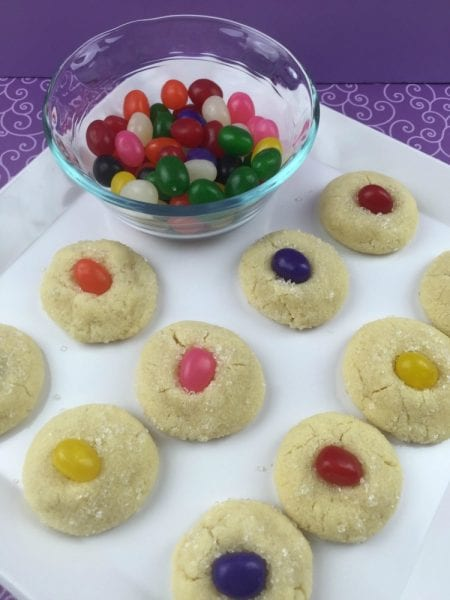 Made From Scratch Jelly Bean Sugar Cookies