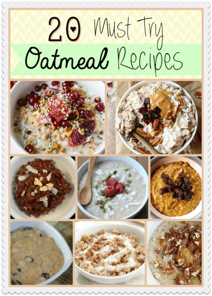20 must try oatmeal recipes