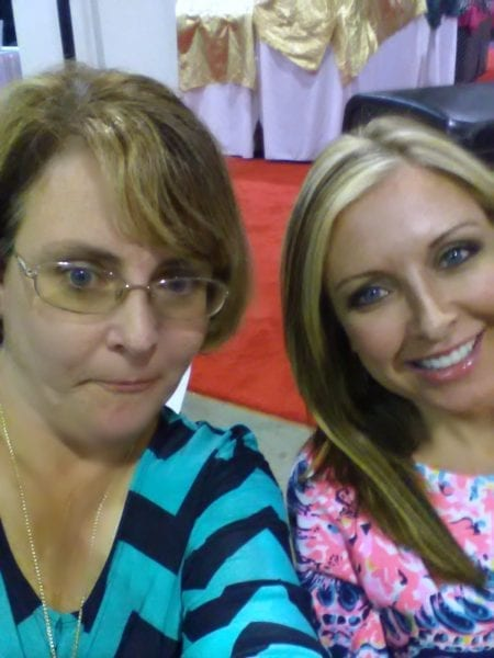Queen J and I at Southern Women's Show