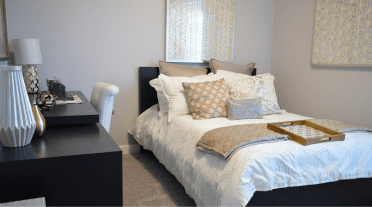 Creating a Minimalist Bedroom with Bed Sheet Sets, Space and Furniture