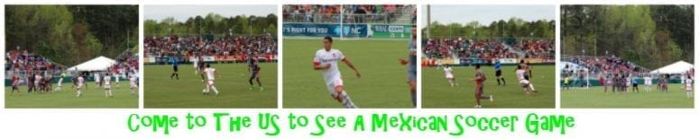 Come to the US to See A Mexican Soccer Game