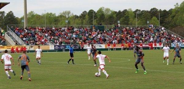 soccer mexico toluca vs. railhawks