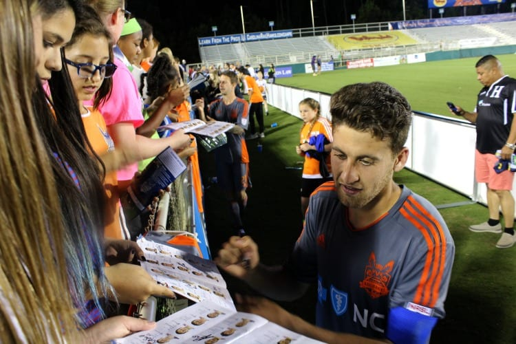 An Inspirational Night with The Carolina Railhawks