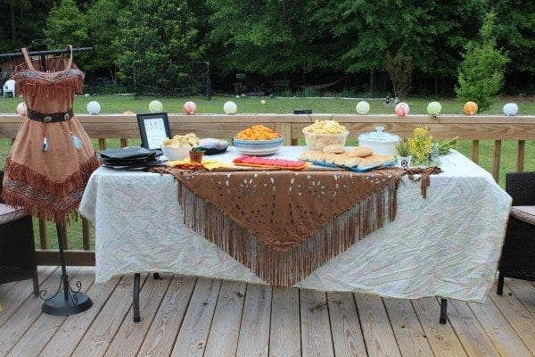 dream catcher food table