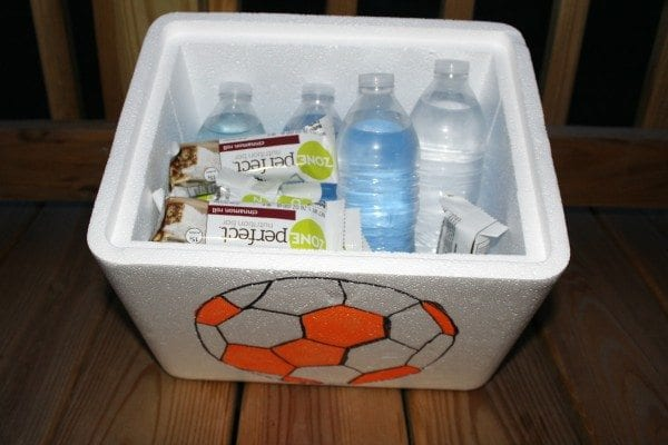 Inside ZonePerfect Soccer Mom Cooler