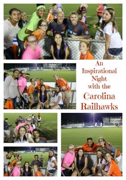 Inspirational Night Carolina Railhawks