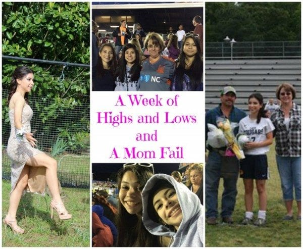 Party - Melissa - A Weeks of Highs and Lows and A Mom Fail